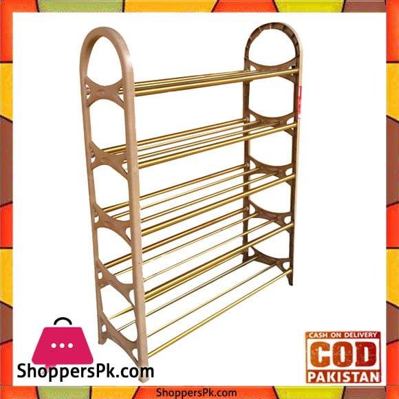 ec10f217811 Buy Plastic Shoe Rack 5 Layer at Best Price in Pakistan