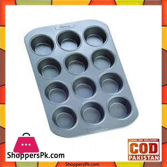 Prestige Carbon Steel Deep Muffin Pan 12-Cup - 57127