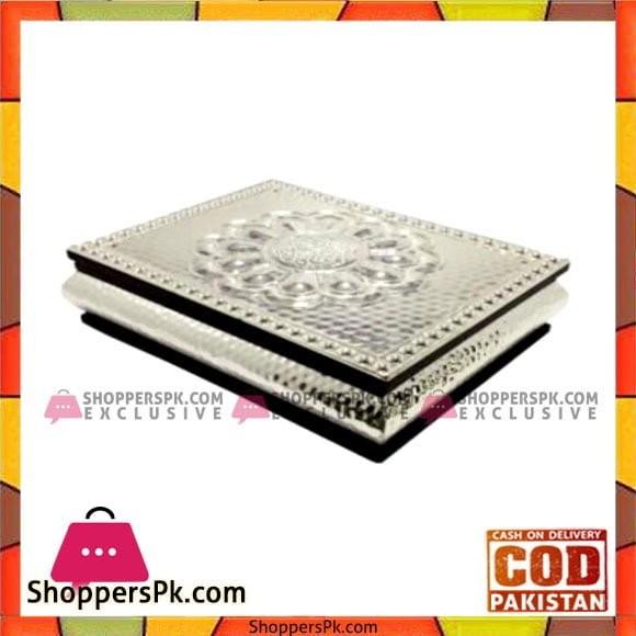 Queen Silverware Quran Holder Silver Medium - QS0004