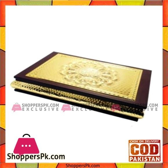 Queen Silverware Quran Holder Golden large - QS0003