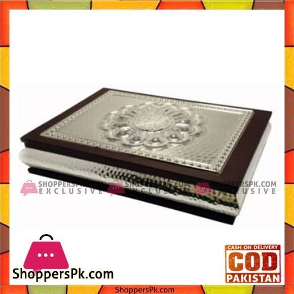 Queen Silverware Quran Holder Silver Large - QS0006