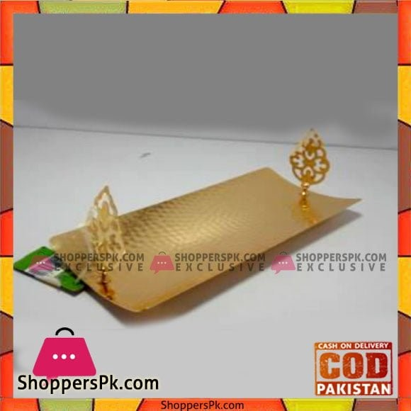 Queen Silverware Rect Hold Large Golden - QS0031