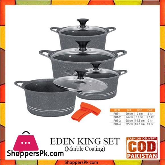 Sonex Eden King Set - Marble Coated - 52308