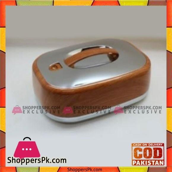 Taiwan Hotpot&Flask 4.5Ltr Wood Silver Rect HotPot - 775LW