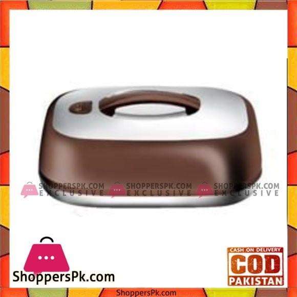 Taiwan Hotpot&Flask 6.5Ltr Chocolate+Silver HotPot - 776