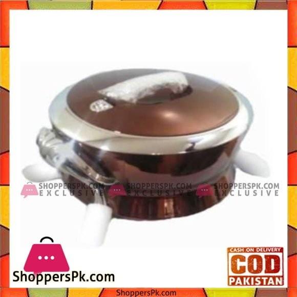 Taiwan Hotpot&Flask 6Ltr Chocolate Silver HotPot - 626CH