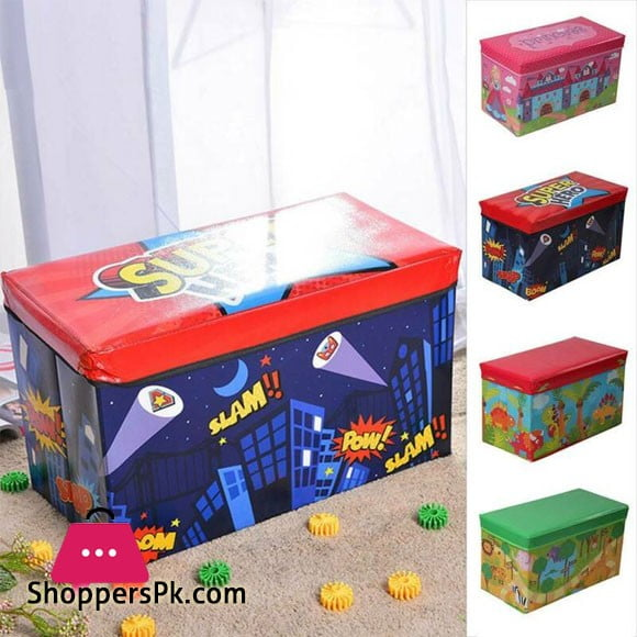 Toy Box Storage Boxes Toy Stool Boxes Can be Occupied Versatile