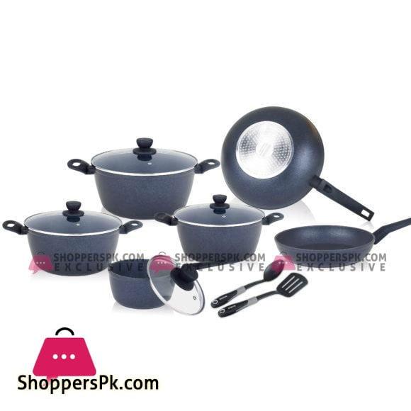 Winsor Cookware Set Forged Aluminium 12 Pcs WR6036