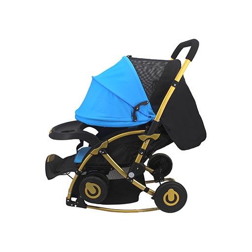 STROLLER BLUE BLACK C3-262