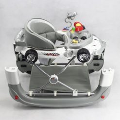 WALKER WITH ROCKER GRAY WHITE T1085H Taiwan Made