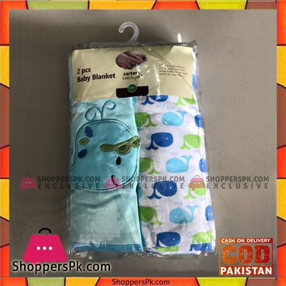 2pcs Carter's Baby Swaddle Blanket - Random Design
