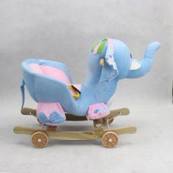 ROCKING BLUE PURPLE ELEPHANT EH-41