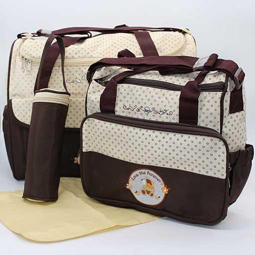 49365eca841 Buy BABY BAG 2PCS SET LOVE ME FOREVER 90026-1 M B at Best Price in ...