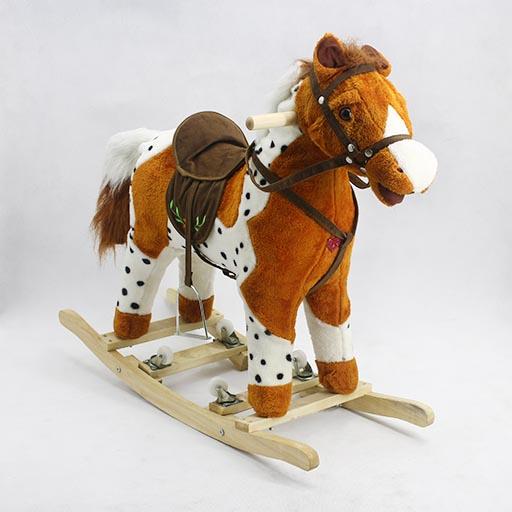 WHEEL LARGE FANCY ROCKING HORSE 2014M