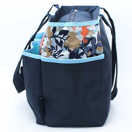 BABY BAG 4PCS NAVY BLUE BB-999-AF M&B
