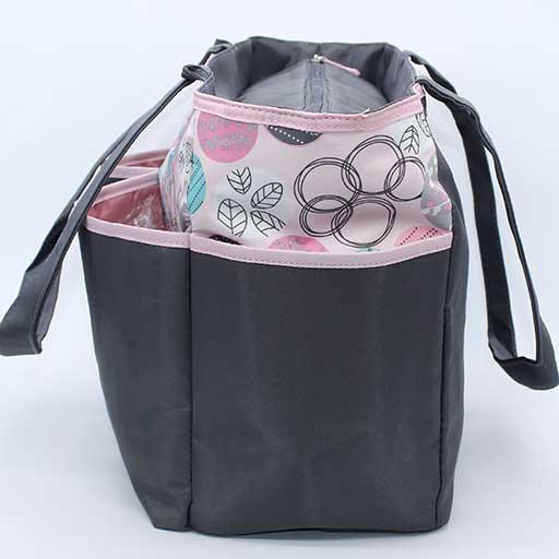 BABY BAG 4PCS DESIGN CIRCLE BB-999-00 M&B
