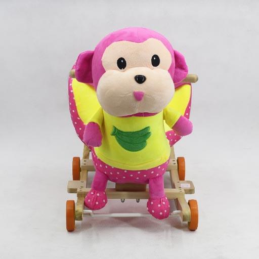 ROCKING SEAT PINK YELLOW MONKEY CRS2-2