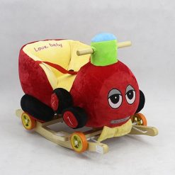 CAR ROCKING SEAT RED CRS2-3