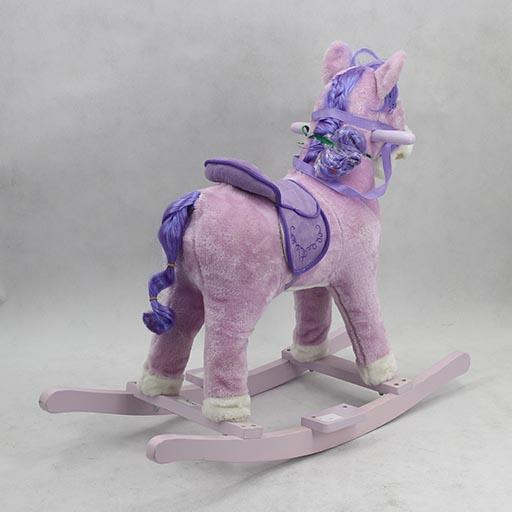 ROCKING HORSE MEDIUM PINK/PURPLE TM110