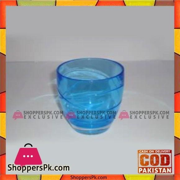 Acrylic Ware Blue Crystal Tumbler - Bh0174 - Made in Taiwan
