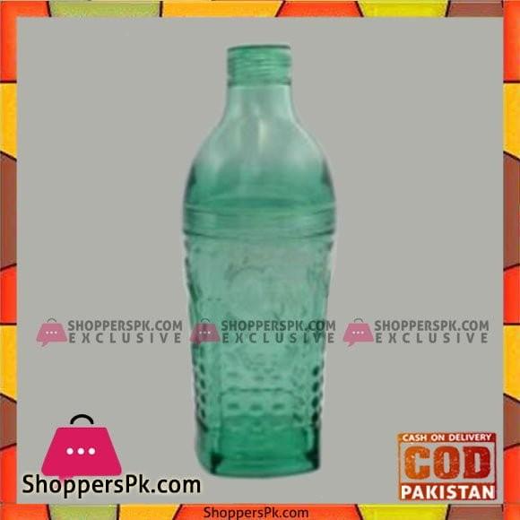 Acrylic Ware Full Li-Green Sq Bottle - Bh0137Ac - Made in Taiwan