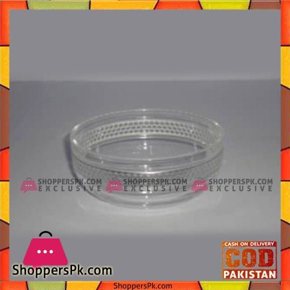 Acrylic Ware Silver Loop 6 Pcs Bowl - Bh0166 - Made in Taiwan