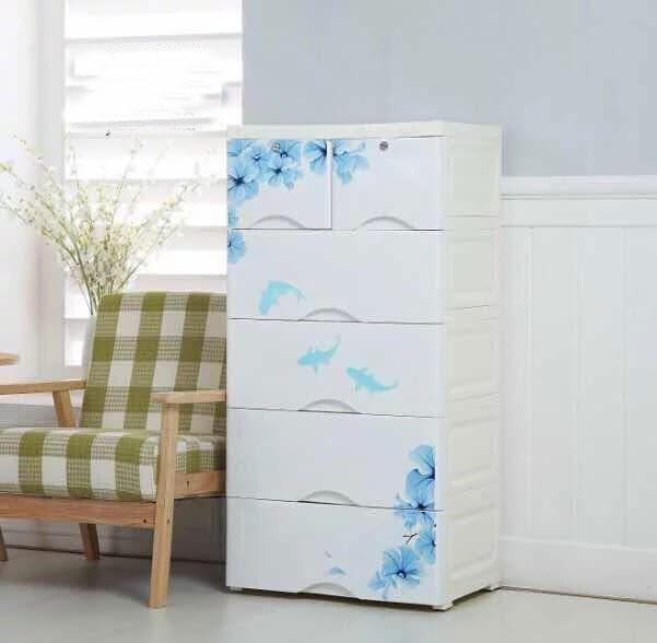 Baby Plastic Storage Cabinet