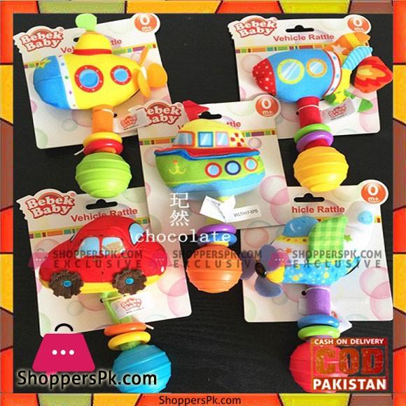 Bebak Baby Vehicle Rattle Baby Toy