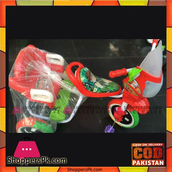 Ben 10 High Quality Kids Tricycle