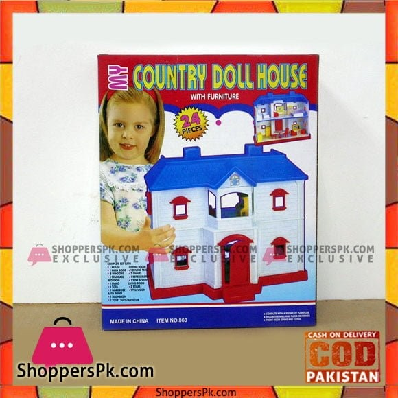 Country Doll House - 863