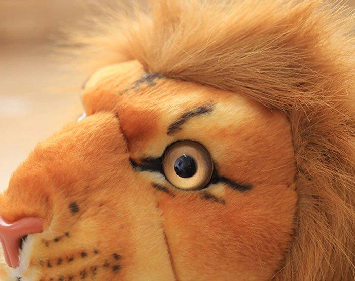 Cute Soft Stuffed Animal Lion Plush Toy for Children - 58 Inch