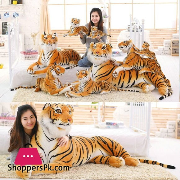 Cute Soft Stuffed Animal Tiger Plush Toy for Children - 58 Inch