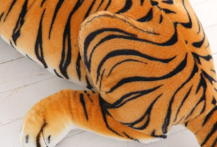 Cute Soft Stuffed Animal Tiger Plush Toy for Children - 48 Inch