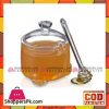 Fine Collection Acr Honey Jar W/Dipper - So10C - Made in Taiwan
