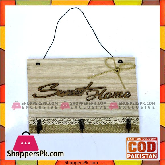 High Quality Wooden Sweet Home Key Holders