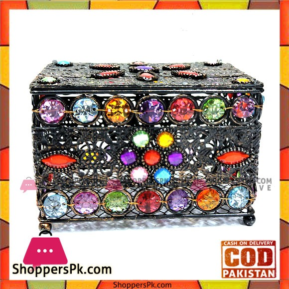 Home Decor High Quality Metal Jewellery Box
