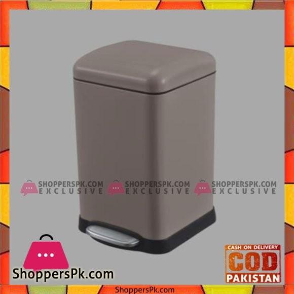 Home Fresh 12Ltr SQ Brown Bin - HF0022