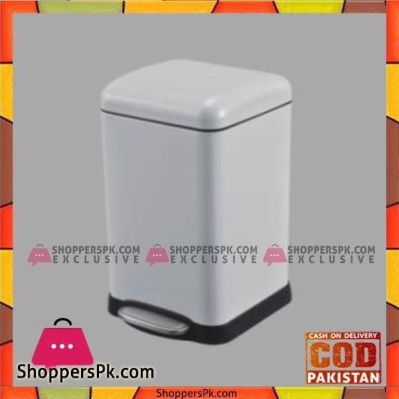Home Fresh 20Ltr SQ White Bin HF0021