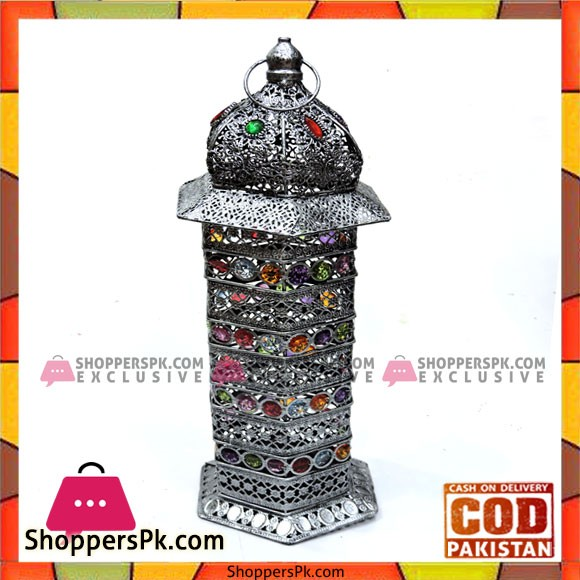 Home decoration High Quality Cage Candle Stand 14 inch