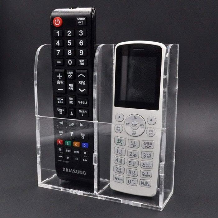 Buy Remote Control Holder Wall Mount Media Organizer Box