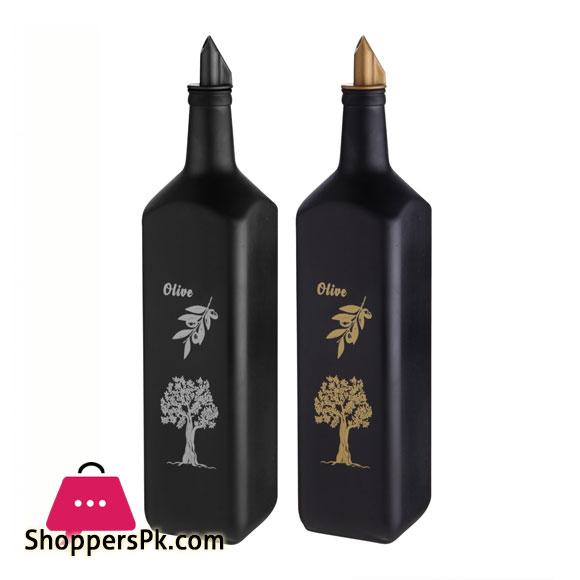 SELKA MUTFAK Glass Oil Bottle 780-ML Turkey Made - 1 Pcs