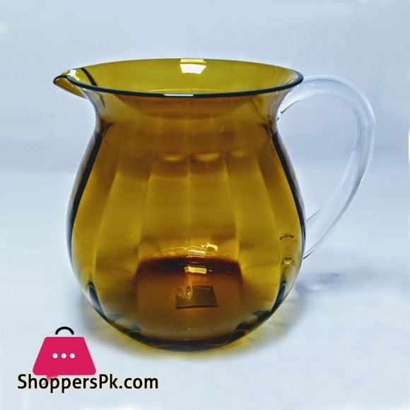 Snail Amber Acrylic Lassi Jug Made in Taiwan High Quality