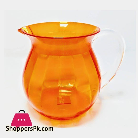 Snail Orange Acrylic Lassi Jug Made in Taiwan High Quality