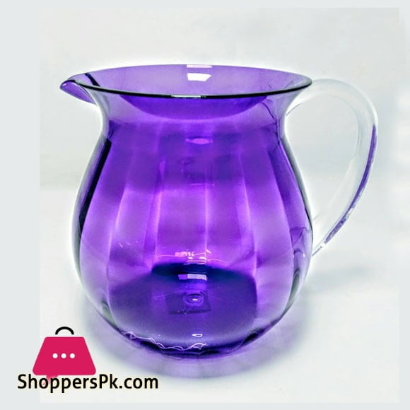 Snail Purple Acrylic Lassi Jug Made in Taiwan High Quality