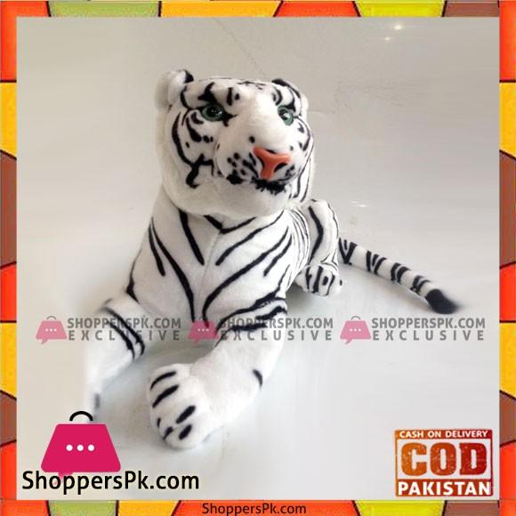 Stuff Toy White Tiger 16 inch