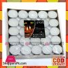 Unscented Tealight Candles Set of 50pcs