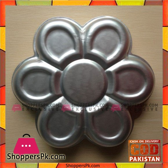 1PCS Aluminum Metal Flower shaped Cake Pan