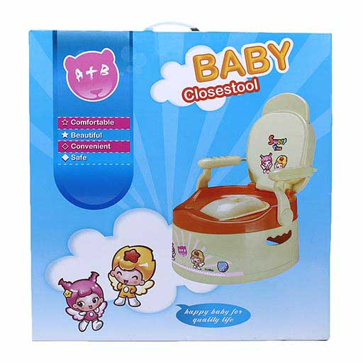 BABY POTTY SEAT WITH REMOVABLE BOWL 1803 A+B