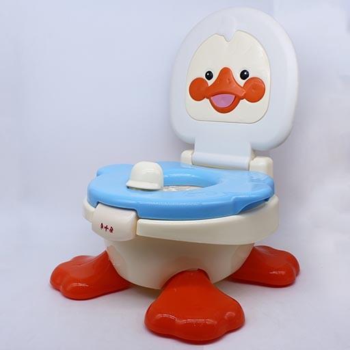BABY POTTY SEAT CLOSESTOOL DUCK DESIGN 6810 A+B