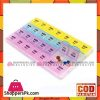 28 Compartments 7 Day Pill Medicine Box Organizer